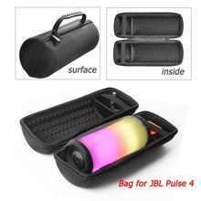 Gosear Stoßfest Staubdicht Lagerung Trage Hard Case Tasche mit Schulter Gurt für JBL Pulse 4 Bluetooth Lautsprecher Zubehör