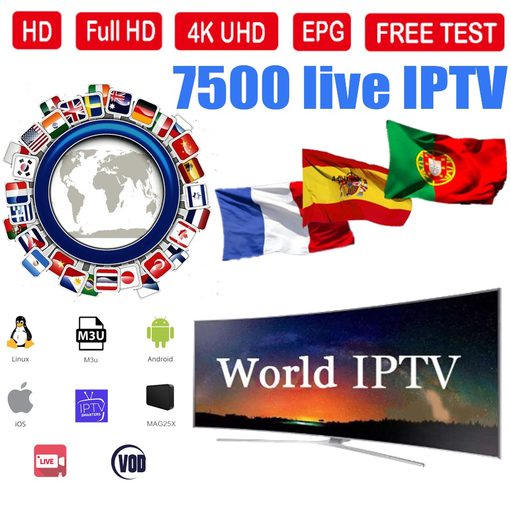 IPTV Suscripcion 12 Mese IPTV Spain DAZN Movist M3U IPTV Code M3u GSE Enigma For Android Box Enigma2 IOS Ssmart PC Ssmart TV