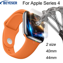 Explosion-proof membrane For Apple Watch for watch Series 4 44 40MM Full Coverage Glass Screen Protective film For Apple Watch marc saltzman apple watch for dummies