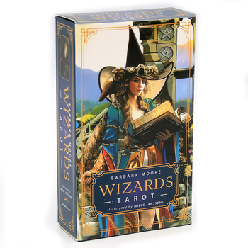 Wizards Tarot Cards PDF Guidebook  will delight you with every flip of the cards raise your sword wave your wand tip your pentac fridays with the wizards