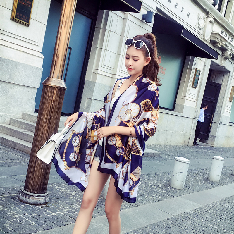 New Arrived Scarf Women Bufandas Invierno Mujer 2019 Luxury Brand Shawl Ponchos and Capes Long Head Scarf Print Hijab Scarves in Women 39 s Scarves from Apparel Accessories