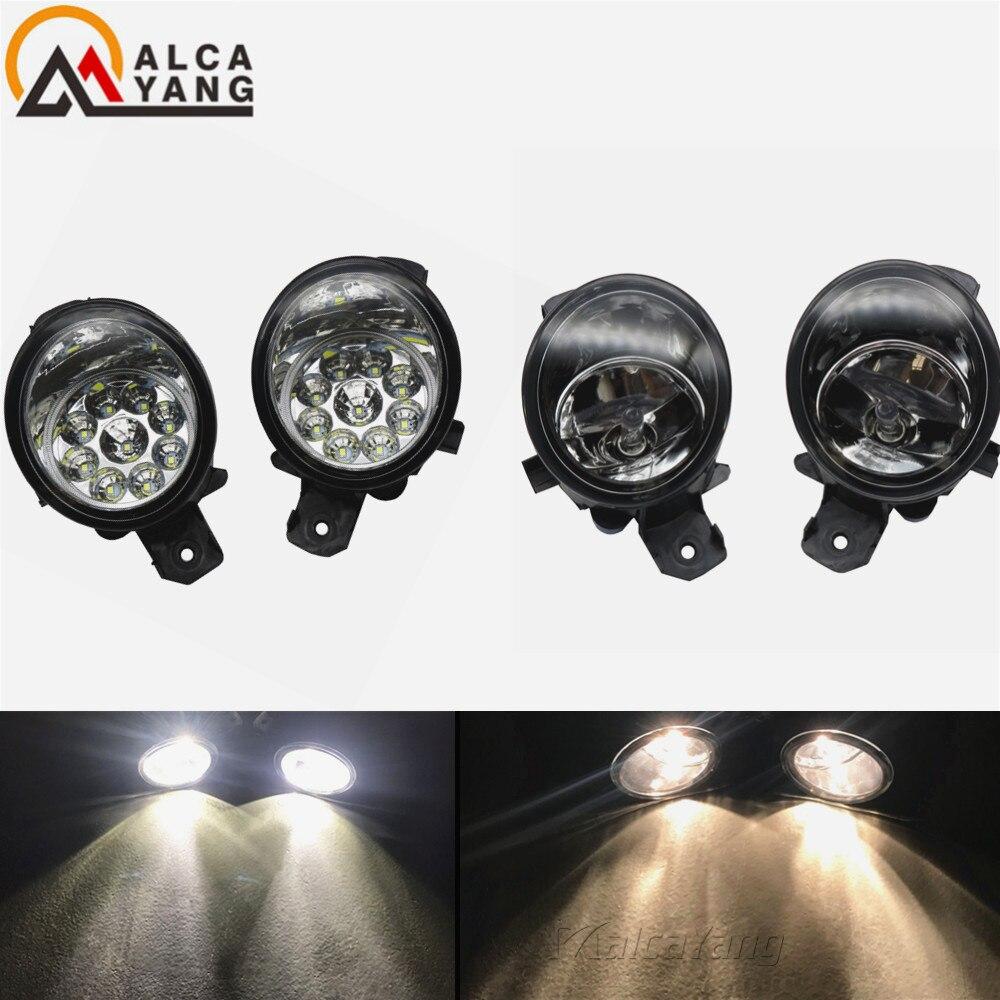 2PCS Chrome front Fog lights Lamp cover trim for Nissan Teana Altima 2013-2015