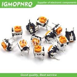 20pcs WH06-2C 100 200 500 20 10 5 2 1K K K K K K 100K 200K 500K 1 50 M ohm resistores variáveis Potenciômetro Trimmer WH06