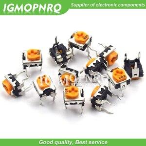 20pcs WH06-2C 100 200 500 1K 2K 5K 10K 20K 50K 100K 200K 500K 1M ohm Trimmer Potentiometer variable resistors WH06