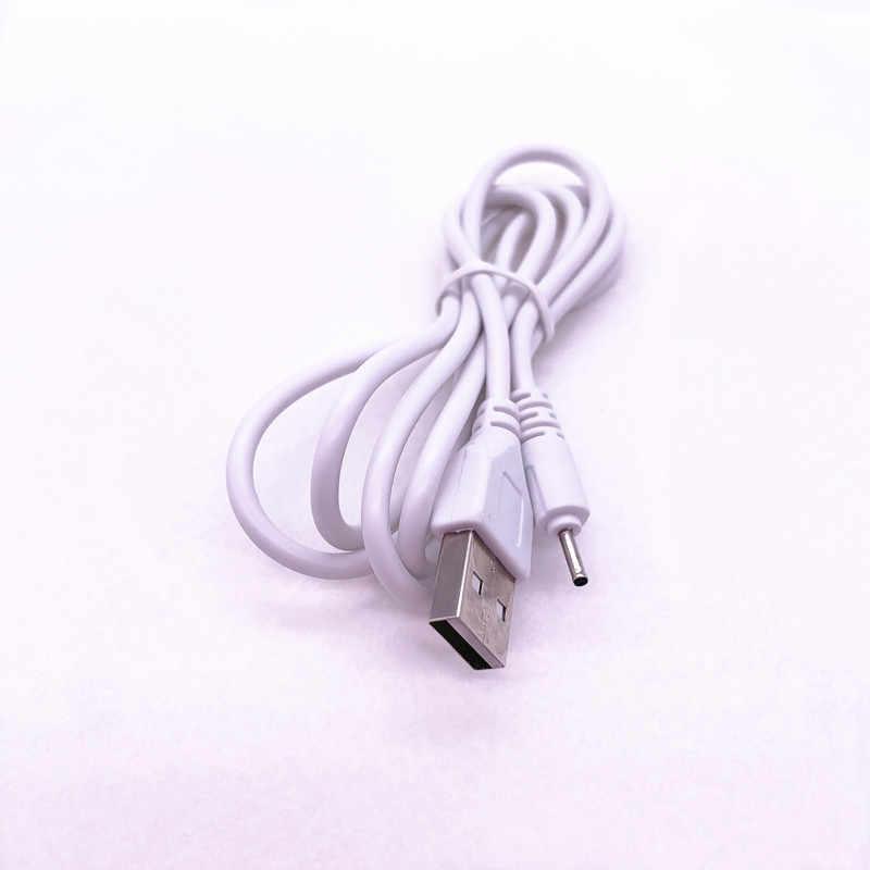 1 M/3FT DC 2 milímetros USB Cabo de Carregamento para Nokia C5-00 C5-01 C5-02 C5-03 C5-04 C5-04 C5-06 C5-07 C3 C2 C1 C7 1800 BRANCO
