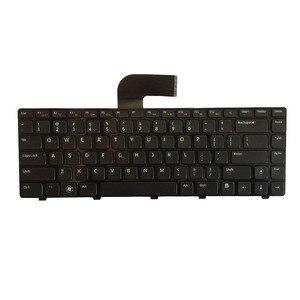 Image 2 - Clavier américain pour DELL Inspiron 15R 5520 7520 0X38K3 65JY3 065JY3 Enginsh noir clavier dordinateur portable avec cadre