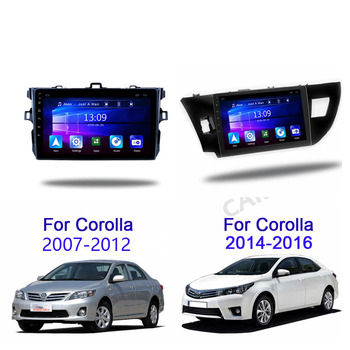 2Din android 8.1 Car Radio Multimedia Player For Toyota Corolla E140/150 2007 2008 2009 2010 2011 2012 2013 2014 2015 2016 2 din