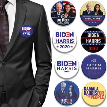 2020 General Election Joe Biden Brooches President American Pin President Election Supporters Brooch 21 Styles image
