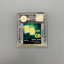 2750 games in one EverDrive OS V4 EDGB Custom Game Cartridge card for gameboy-DMG GB GBC GBA Game Console Power saving version.