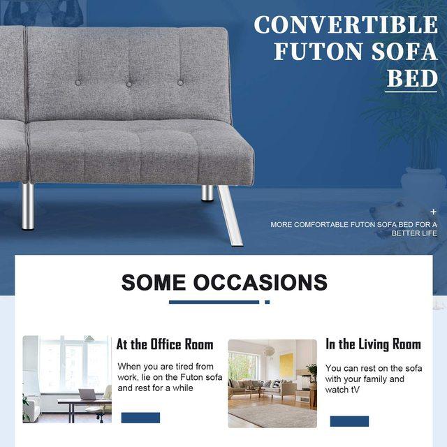Futon Sofa Bed  5