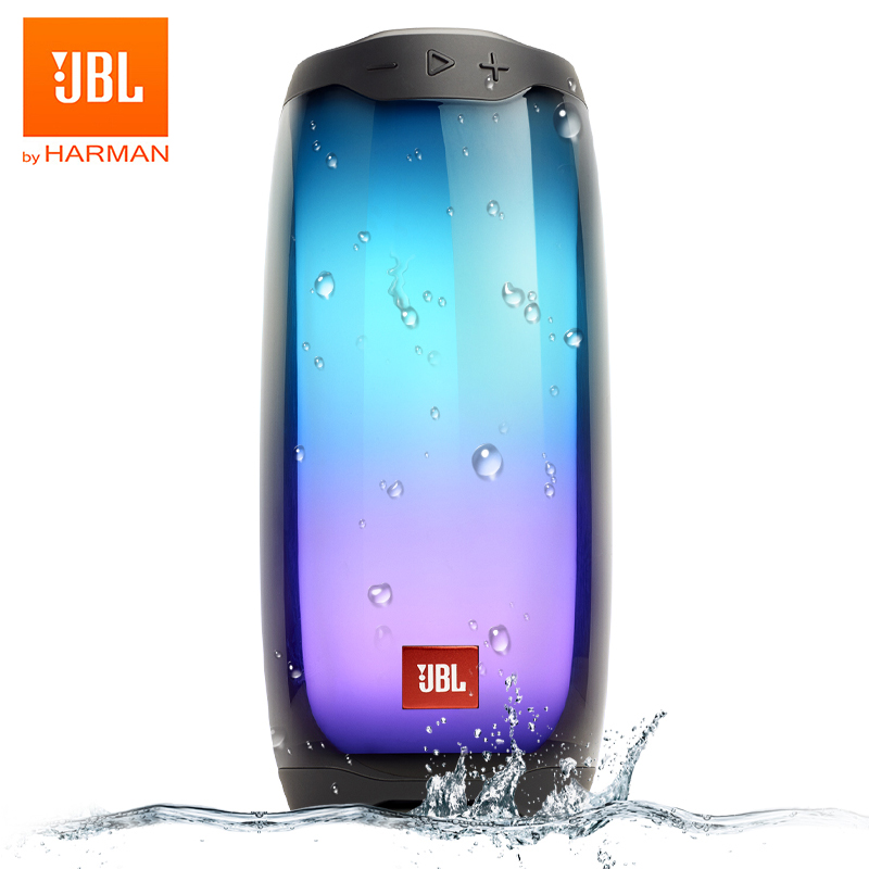 JBL PULSE4 Potable Wireless Bluetooth Light Show Speaker Stereo Sound with LED light Party Boost APP IPX7 Waterproof JBL PULSE 4