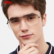 טיטניום סגסוגת משקפיים מסגרת גברים של oversize משקפיים מרשם משקפיים שמש קוצר ראייה משקפיים גדול גודל נשים אירופה eyewear