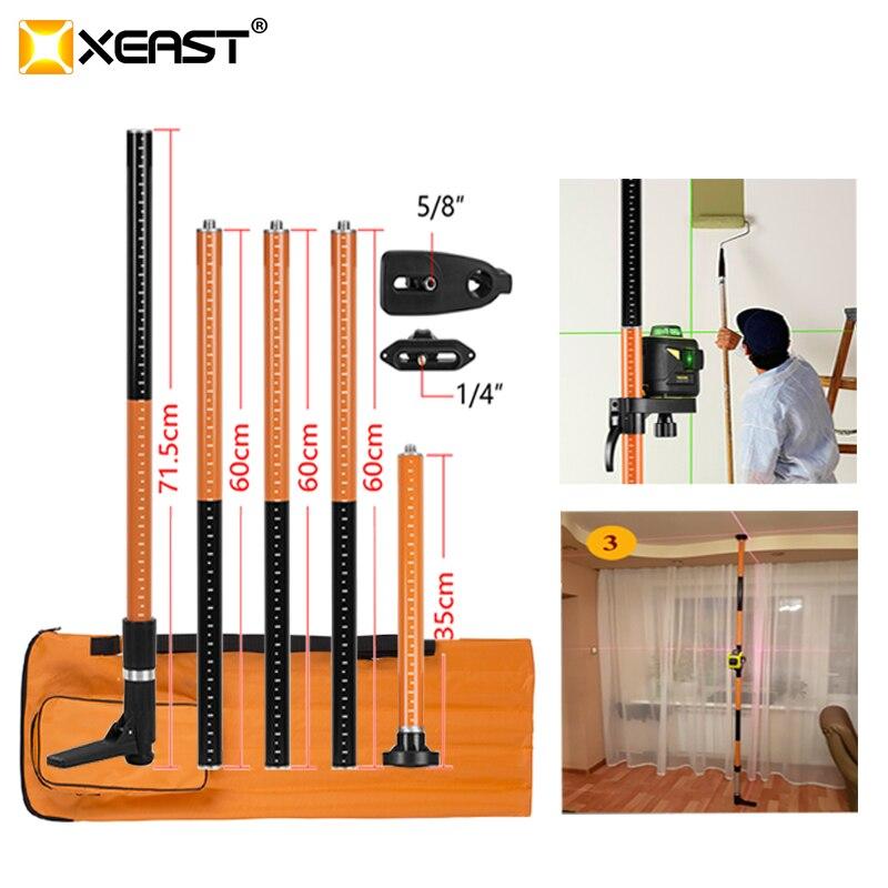 XEAST 5/8 1/4 Verlängern Halterung Dehnung Maximale 3,36 M für Laser Ebene