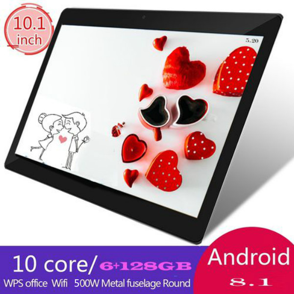 2020 Tablet 10.1 Inch Tablets Android Lager Memory With 6G+128GB  MTK6797 Dual SIM Cards Phone 4G Call Wifi Tablets  Tablet 10.1