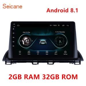 Image 1 - 2GB RAM 32GB ROM أندرويد 8.1 2Din سيارة مشغل وسائط متعددة لتحديد المواقع لمازدا 3 Axela 2013 2014 2018 دعم SWC OBD واي فاي مرآة لينك