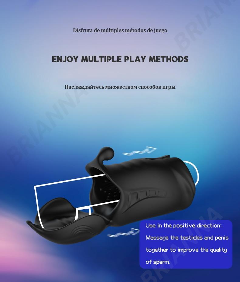 multiple play Penis Stimulator