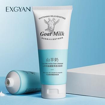 goat milk amino acid cleansing facial cleanser moisturizing oil control amino acid facial cleansing skin care facial cleansing oil