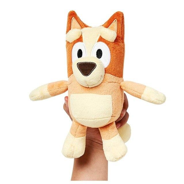 8Inch Bluey Kids Soft Gift Children Cute Plush Toys Doggy Pupets Doll Soft Cuty Stuffed Toy 2021 Bluey Bingo Plush Doll Toy F 2