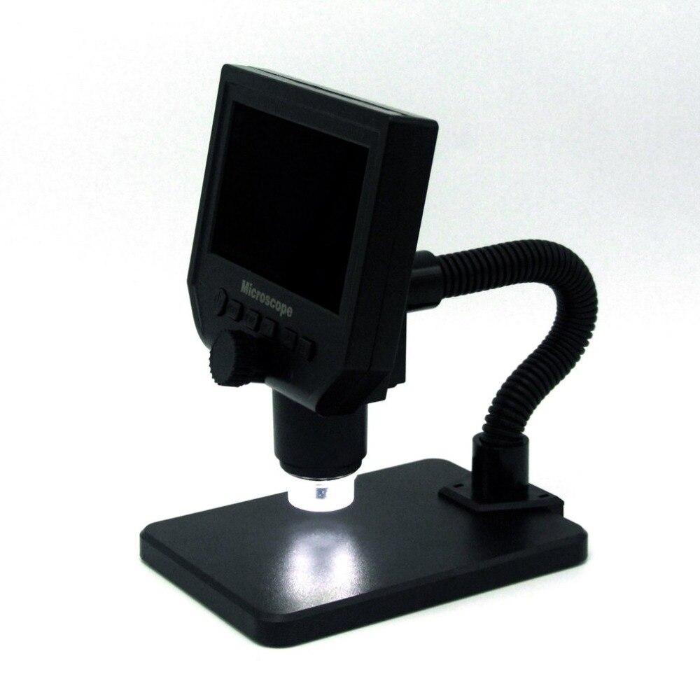 G600 600X3,6 Мп 8LED Портативный ЖК-дисплей Цифровые микроскопы 4,3