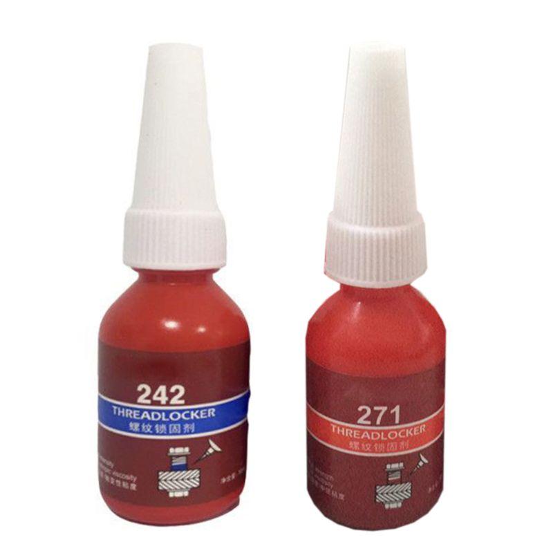 1 Pcs 242/271 Glue Screw Glue Blue Glue Anaerobic Adhesive Fast Curing Thread Locking Agent