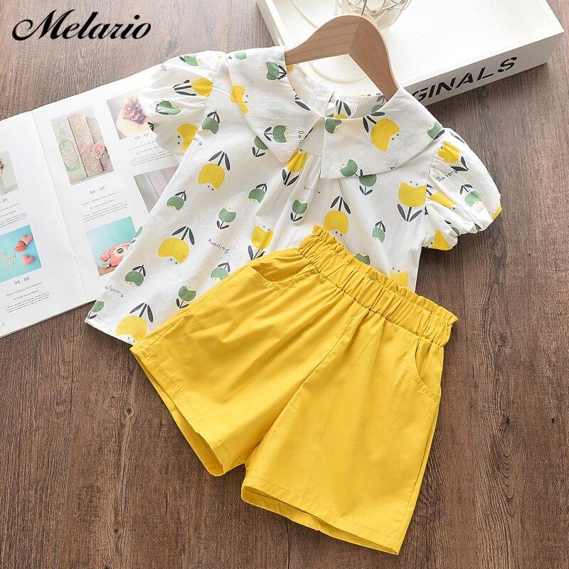 impressao camiseta shorts 2 pcs menina 05