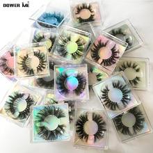 3D Faux Cils lot Wholesale 25mm Lashes Box Case False Eyelashes Packaging Long Eye Fake Lashes Mink Eyelashes In Bulk Vendor