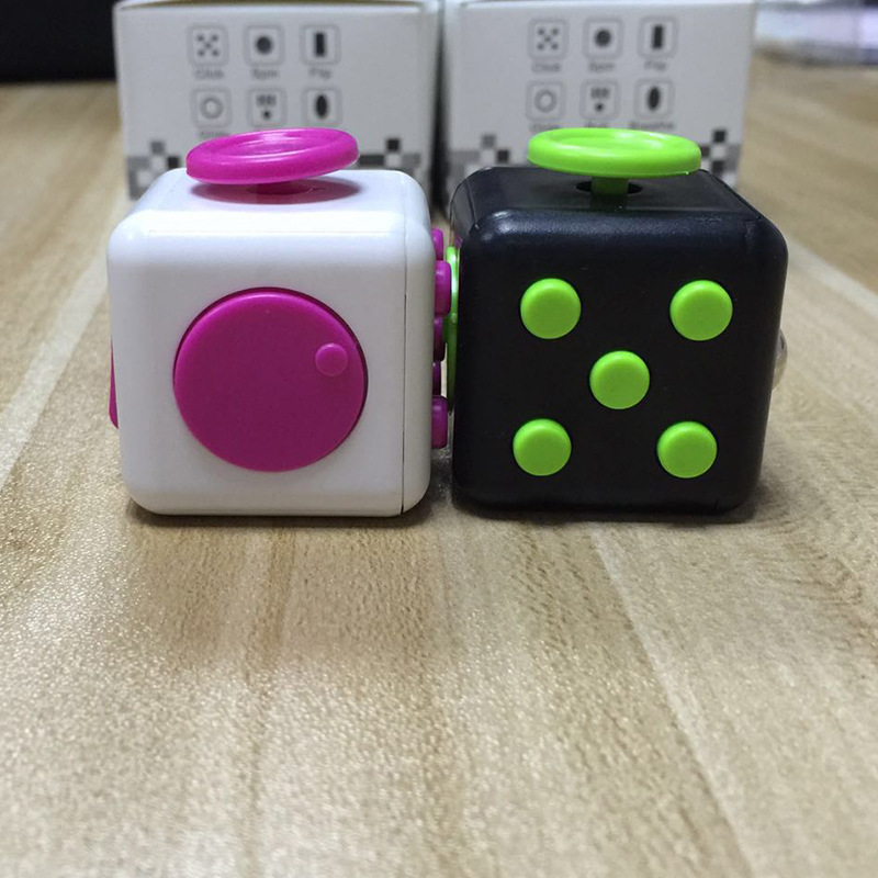 Stress Relief For Adults Press Magic Anti Stress Cube Toys Puzzles Magic Cubes Anti Stress Reliever Cube Relaxation