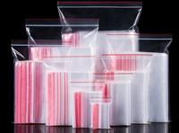 100 Teile/los PE Self-styled 6 Drähte Ziplock Schloss Reißverschluss Poly Klar Taschen Kunststoff Lebensmittel Lagerung Taschen Dicke Transparente paket Taschen