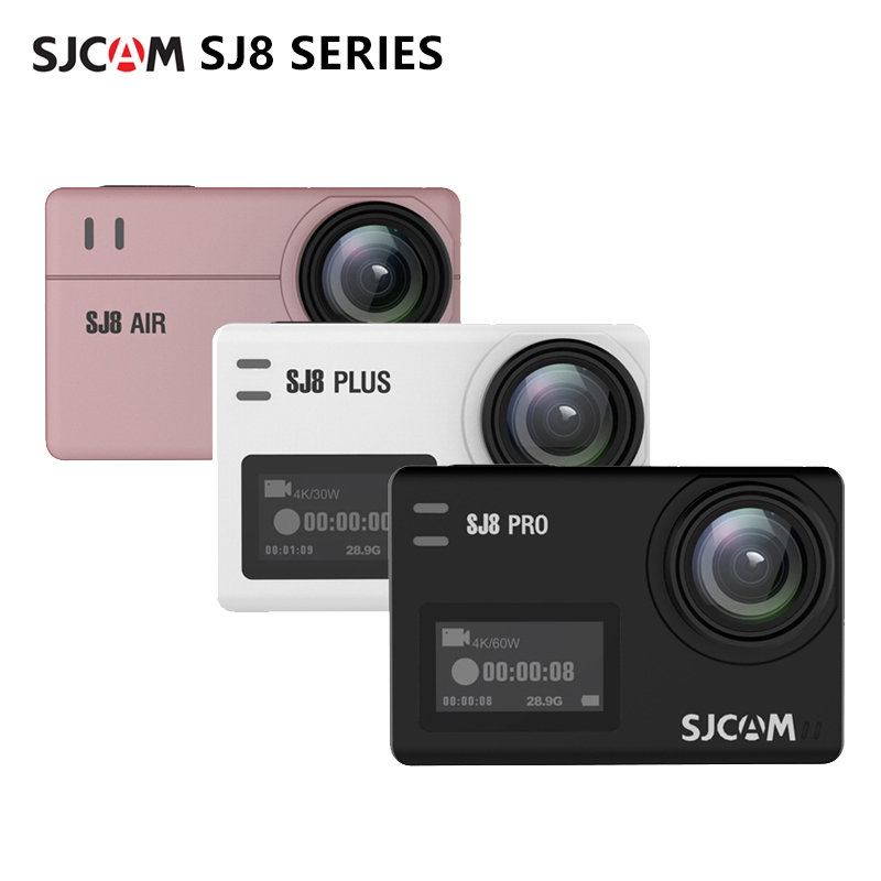 Action Camera Original SJCAM SJ8 pro 4K sj8 plus sports camera sj8 air 1296P Wifi Waterproof 2.33 Touch Screen Outdoor Sport DV|Sports & Action Video Camera| - AliExpress