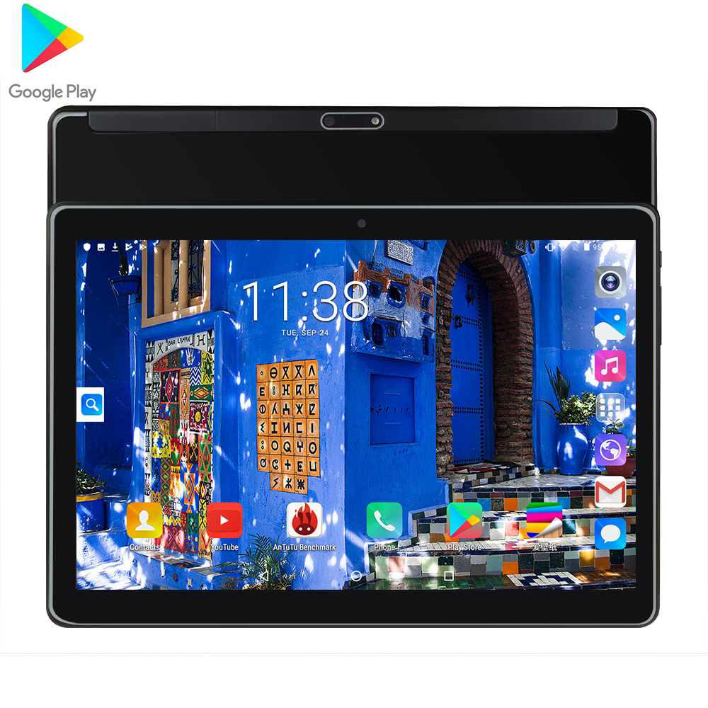 1.5G+32G Dual card call Tablet pc Mtk6580 Quad Core 1280x800 ips Dual camera 5.0MP GPS WIFI Android 7.0 Google market|Tablets| |  - title=