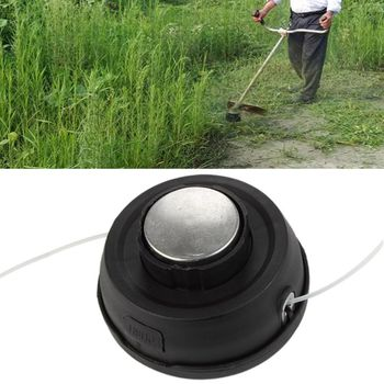 Universal Aluminium Trimmer Head Garden Lawn Mower Grass Cutter Strimmer Tool new garden weeder accessory parts universal grass trimmer nylon line coil garden strimmer lawn mower fitting ornament red
