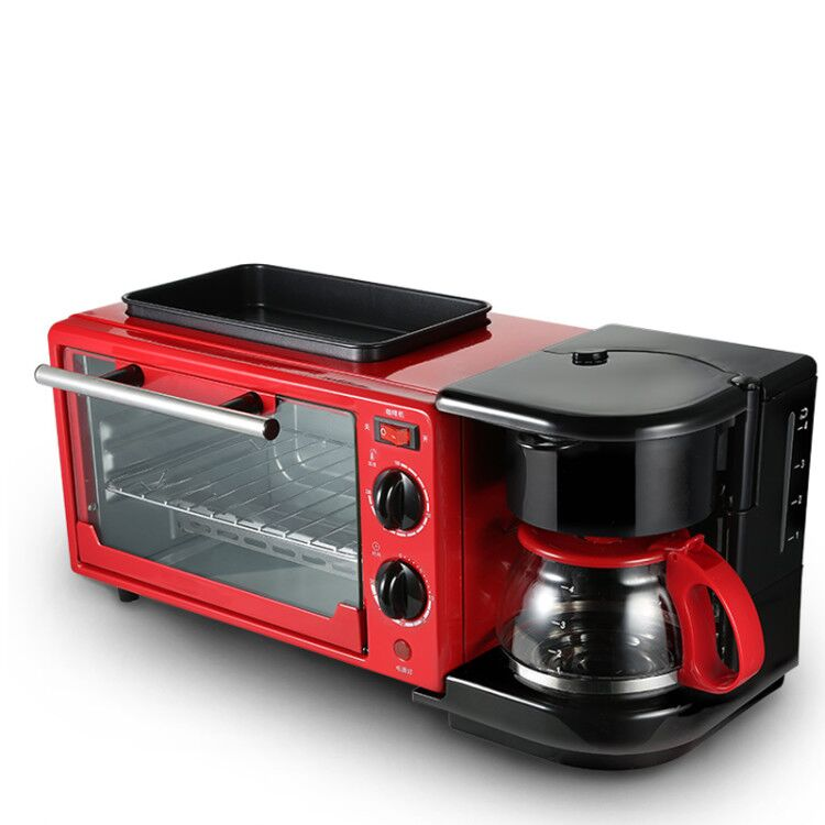 Breakfast Machine Electric Toaster Multi-function Toaster Three-in-one Breakfast Machine Home Automatic Toaster Oven 5