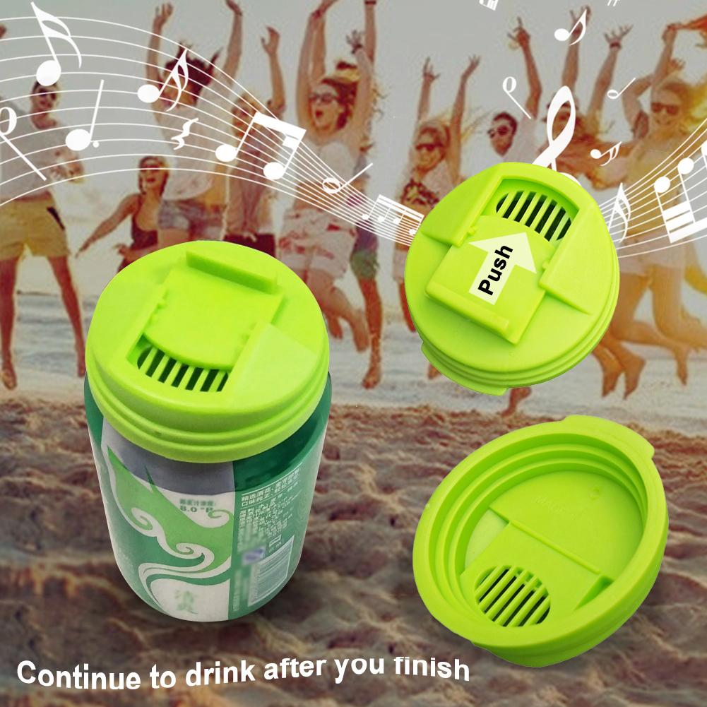 4Pcs Plastic Leakproof Cup Caps Sealing Lid Soda Beverage Top-pop Can Cover Beer Beverage Can Cap Top Cover FlipProtector Snap