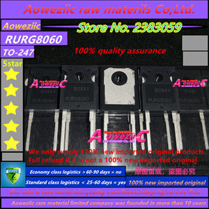 Image 2 - Aoweziic 100% جديد المستوردة الأصلي RURG8060 TO 247 صمام ثنائي لمقوم الاستعادة السريعة 600 فولت 80A