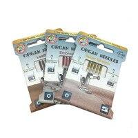 5 uds alta calidad agujas de órganos Máquina DE COSER doméstica agujas elástico para tejidos de punto y tejido elástico YJ352