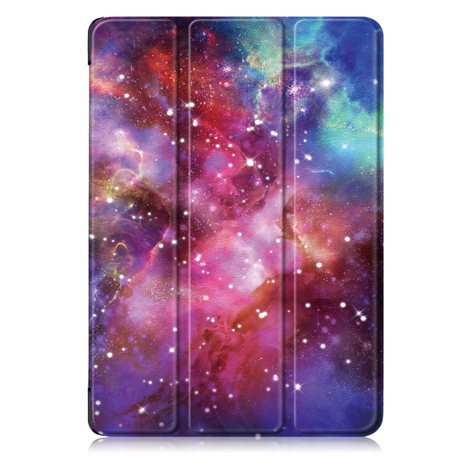Galaxy White Tablet Case Funda For IPad 10 2 Inch 2020 with Pencil Holder Magnetic Folding Stand Smart