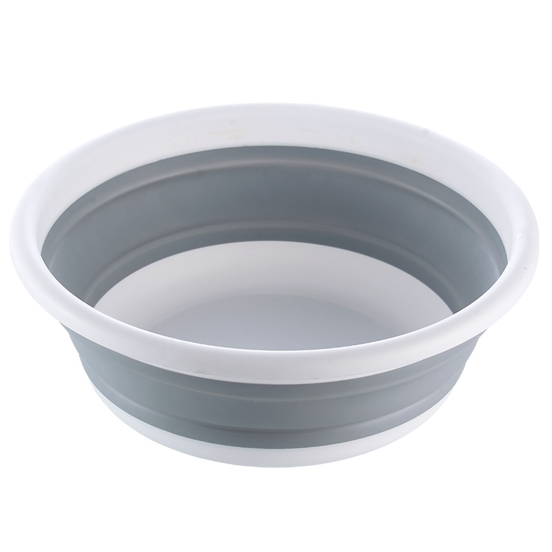 Large Size Portable Plastic Basin For Wash Car Clothes Vegetable Washing Folding Basins Home Kitchen Traveling Cleaning Tools|Plastic & Portable Basins| |  - title=