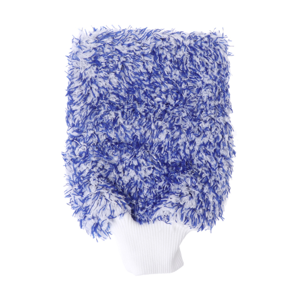 Car Care Glove Plush Soft Microfibre Wash Mitt Microfiber Car Cleaning Detailing Drop Ship N21