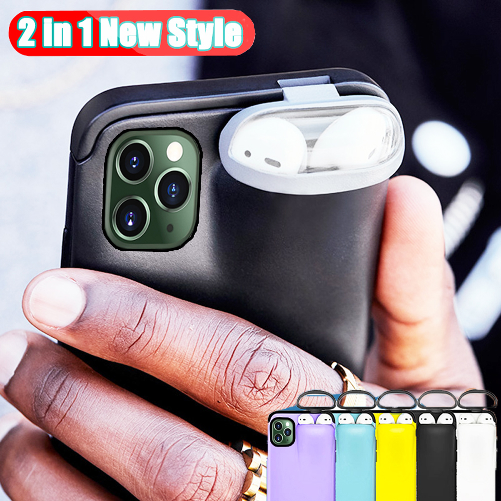 Jetjoy Case for iPhone 11 Pro Max Case Xs Max Xr X 10 8 7 Plus Jetjoy Case for iPhone 11 Pro Max Case Xs Max Xr X 10 8 7 Plus Cover for AirPods 2 1 Holder Hard Case for AirPods Case Hot Sale