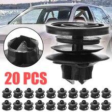 For V-W G-OLF M-K4 P-ASSAT B-ORA 20pcs Plastic Auto Interior Fastener & Clip Door Card Trim Panel Clips 3B0868243