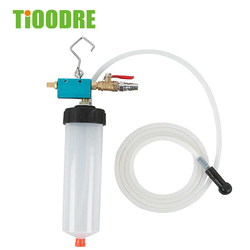 Auto Car Brake Fluid Oil Change Replacement Tool Hydraulic Clutch Oil Pump Oil Bleeder Empty Exchange Drained Kit Car Accessories Poweka Pneumatic Fluid Extractor