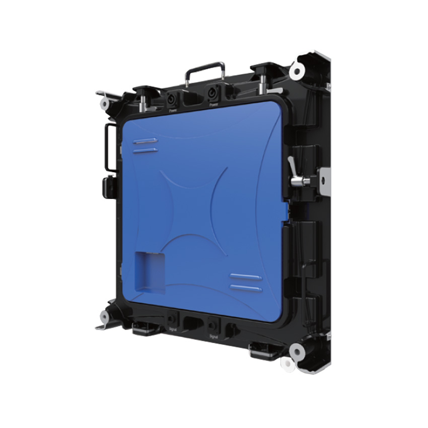 P4 Indoor 512X512mm Die Casting Aluminium Empty Cabinet Accommodates 8pcs Modules HD Full Color Led Display Screen
