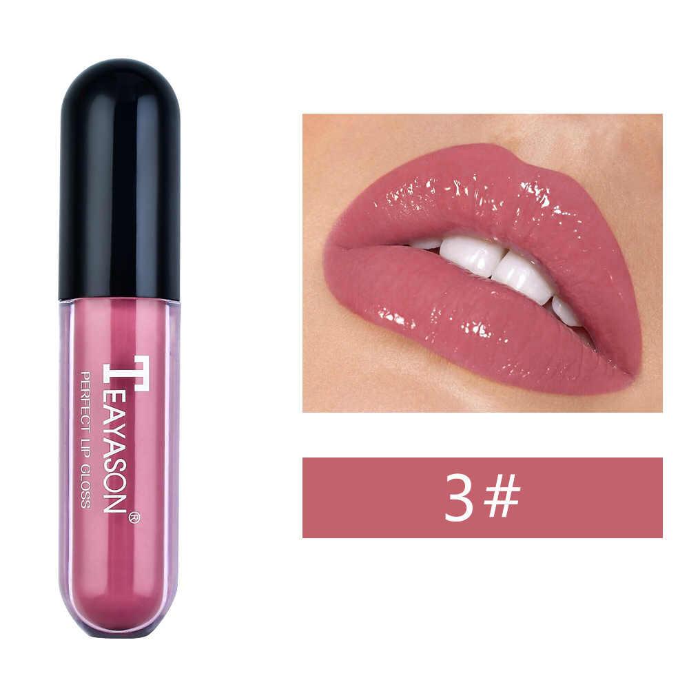 חדש נוזל שפתון שפתיים זיגוג לאורך זמן לחות איפור נייד מתנה עבור נשים