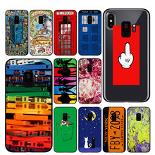 comic books Case for Samsung Galaxy A6 A8 Plus A7 A9 2018 A5 2017 18 J530 J7 J8(China)