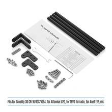 Aluminium Profiel Ondersteunende Trekstang Kit 3D Printer Onderdelen Accessoires Voor Creality 3D CR 10/CR 10S/CR 10S4