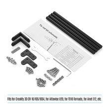 Kit de varillas de tracción de aluminio para impresora 3D, accesorios para Creality 3D CR 10/CR 10S/CR 10S4