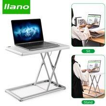 Складная регулируемая подставка для ноутбука llano из алюминиевого