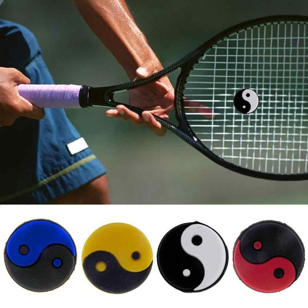 6 Pieces Tennis Racquet Vibration Dampener Shock Absorber Damper Accessories