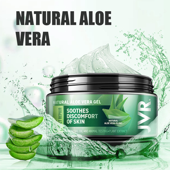 JVR Natural Aloe Soothing Gel Aloe Vera Gel Skin Care Remove Acne Hydrate Moisturizing Day Cream After Sun Lotions Aloe Gel 120g недорого