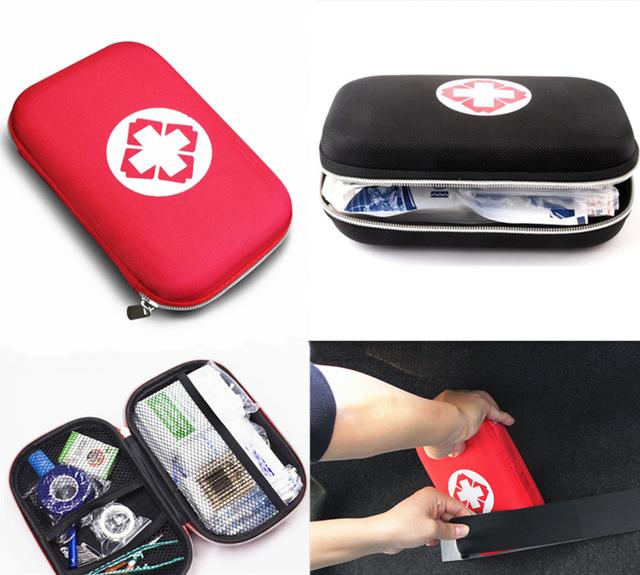 緊急医療サバイバル治療救助ボックス救急箱防水evaバッグ人ポータブル屋外旅行薬物パックキット